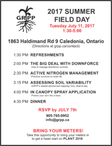 GRPP Summer Field Day