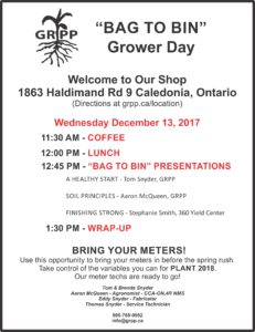 GRPP December Grower Day Invite